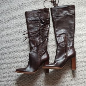 New Nine West Studio western style high boots